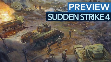 Sudden Strike 4 - Preview-Video: So knallhart werden die Kampagnen