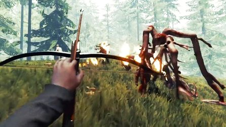 The Forest 1.10 - Update bringt neues Monster, Armbrust & Gleiter (Trailer)