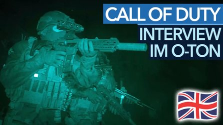 Call of Duty: Modern Warfare - Interview im englischen Originalton.