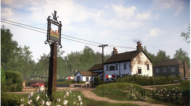 <b>Everybody's Gone to the Rapture</b><br>Spielerisch erwartet uns simple Adventure-Kost: Gegenstände inspizieren, die Umgebung untersuchen. Der Fokus liegt auf dem Erlebnis.