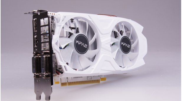 KFA2 Geforce GTX 1050 Ti EXOC White