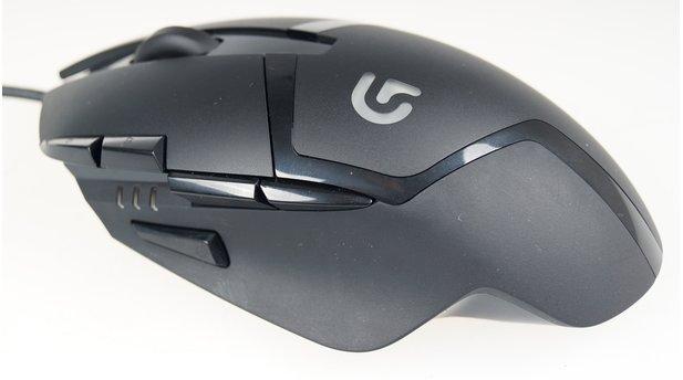 Logitech G402 Hyperion Fury - »Weltweit schnellste Gaming