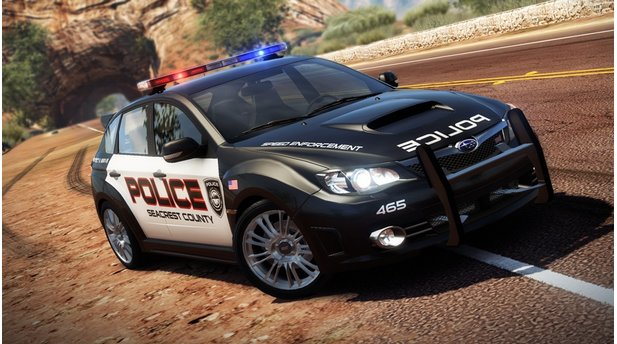 <b>Need for Speed: Hot Pursuit</b><br/>Subaru Impreza WRX STI (Cop)