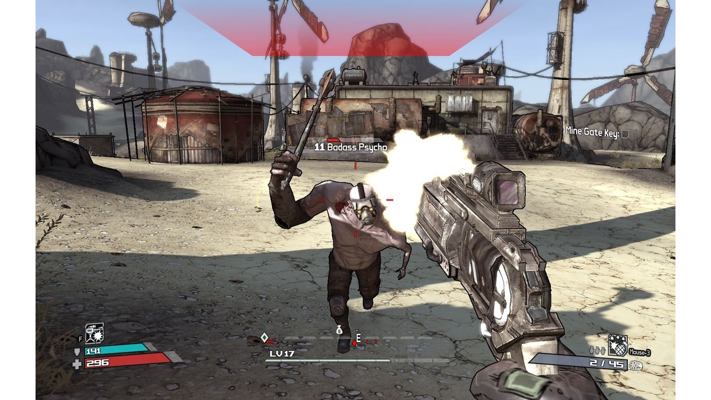 Borderlands: Screenshots aus der Redaktion