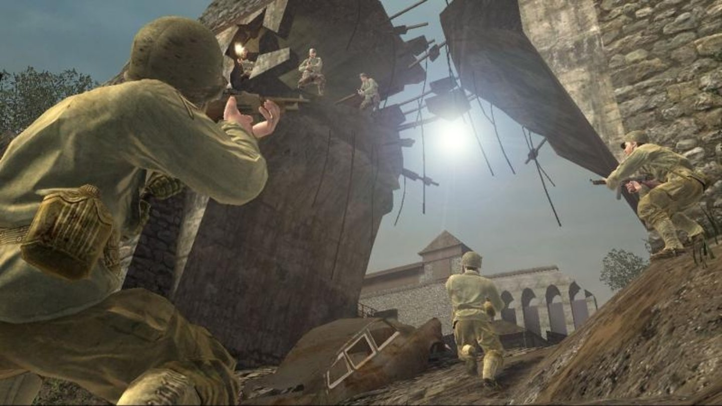 call of duty 3 wii 2