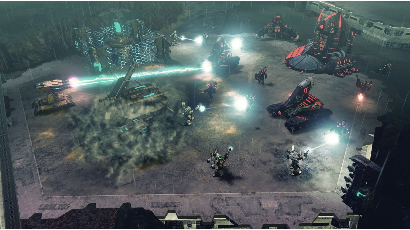 Command & Conquer 4: Tiberian Twilight - Screenshots aus der Beta