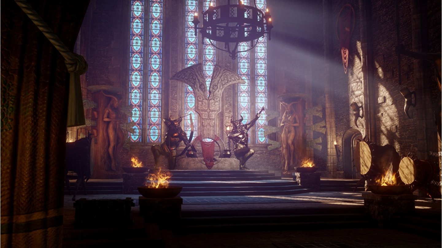 Dragon Age: Inquisition - Beute der Qunari - Thronsaal
