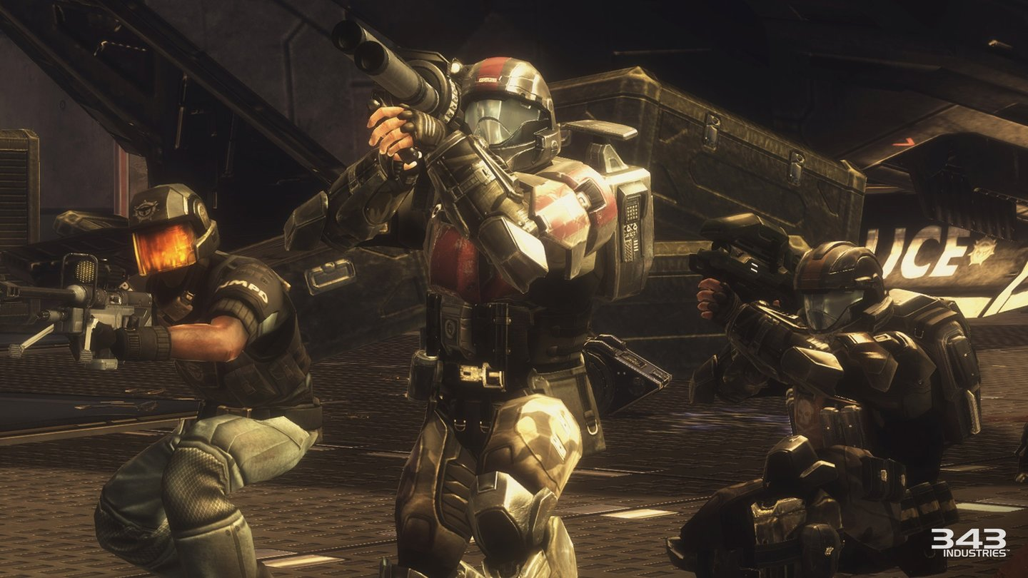 Halo: The Master Chief CollectionScreenshots des Remakes von Halo 3: ODST