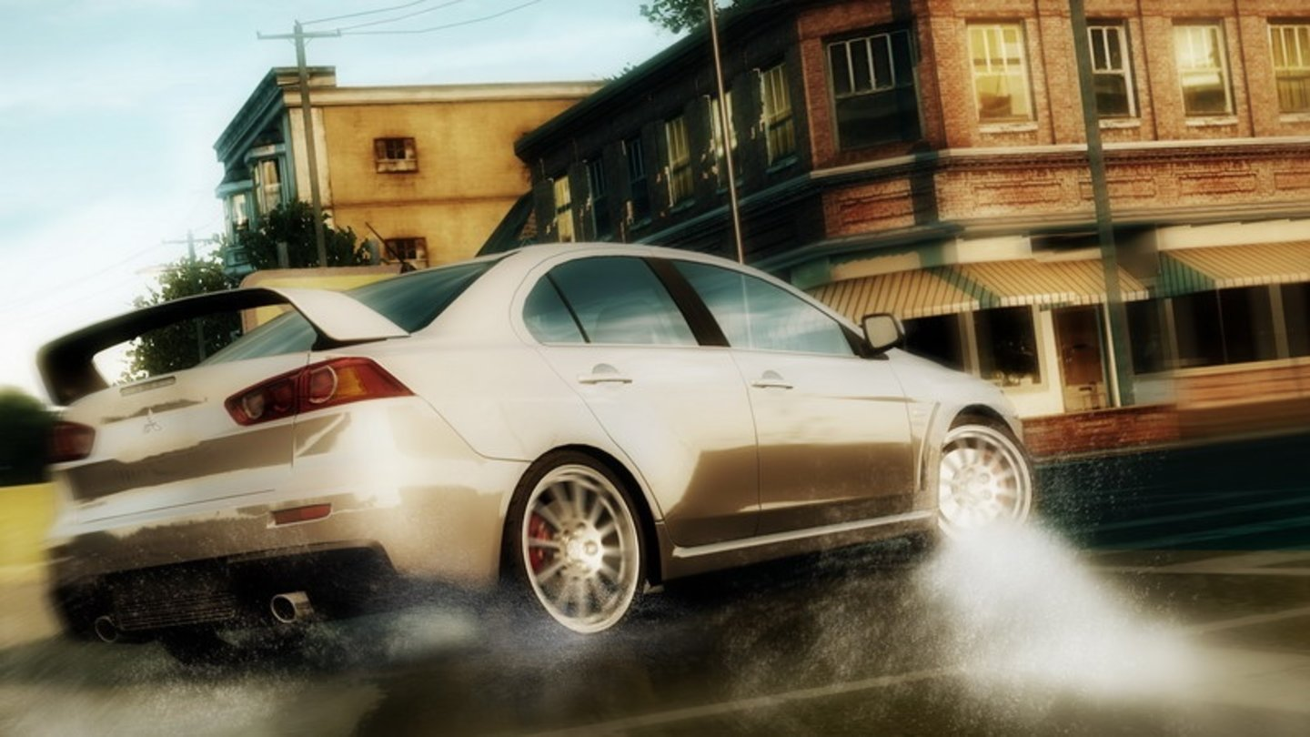 Need for Speed: Undercover - '06 Mitsubishi Lancer EVO $36,000, Turbo, AWD, 300hp