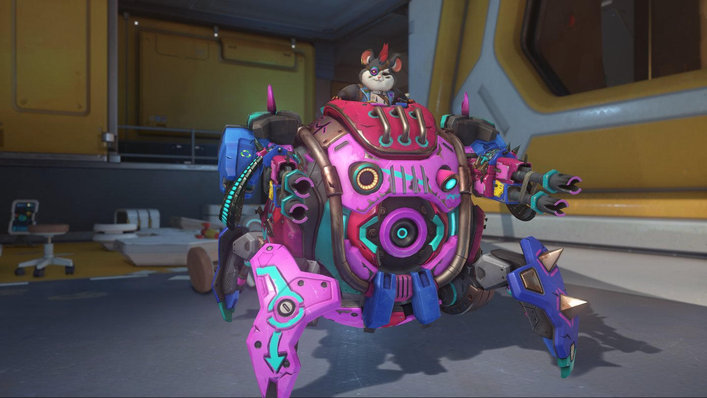 Overwatch - Alle Skins von Wrecking Ball / Hammond