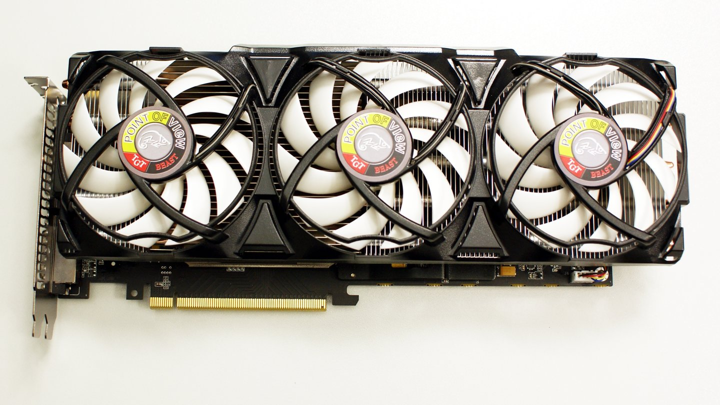 Point of View Geforce GTX 560 Ti TGT Beast