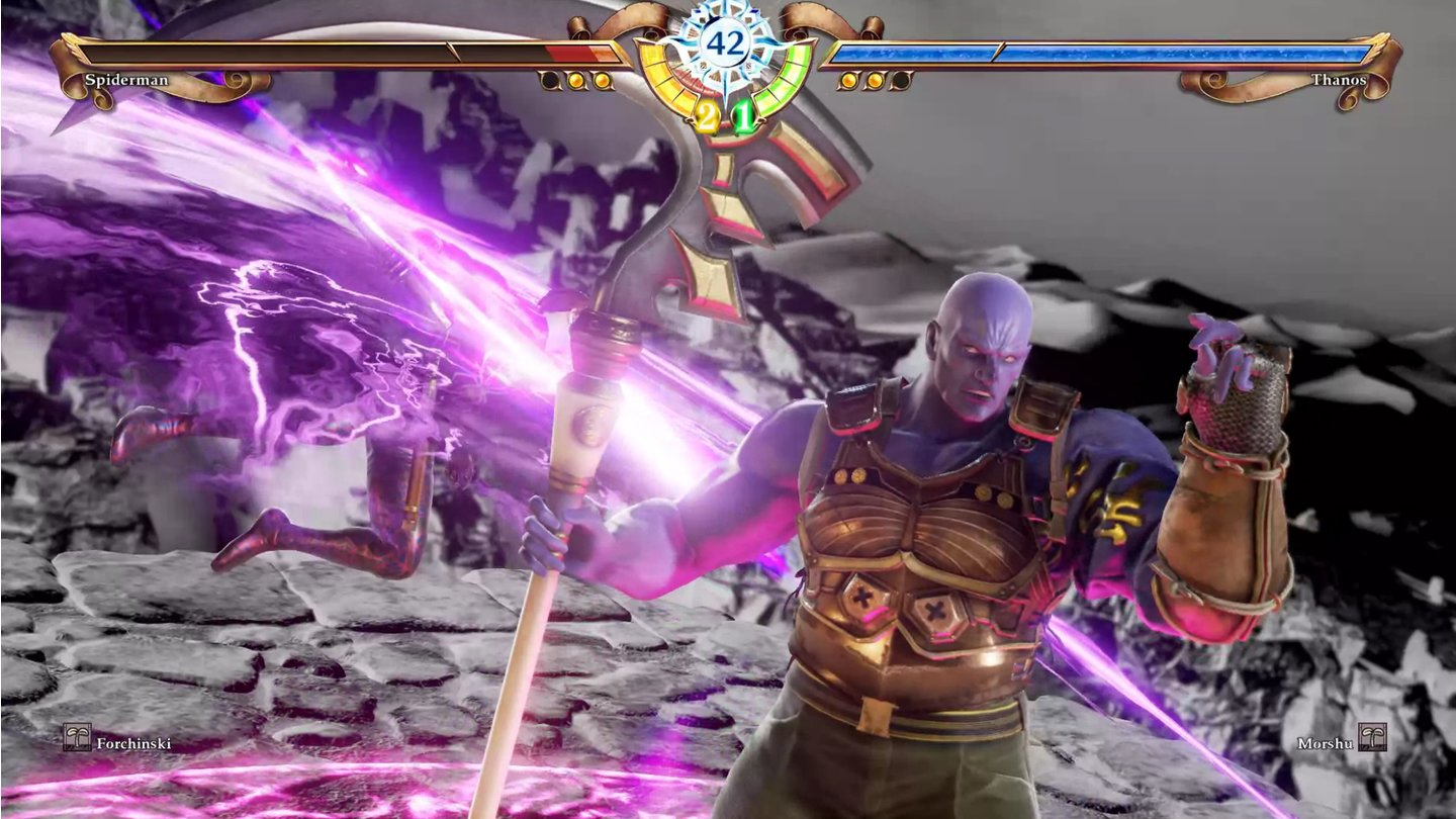 Soul Calibur 6 - Thanos von Schiltrus