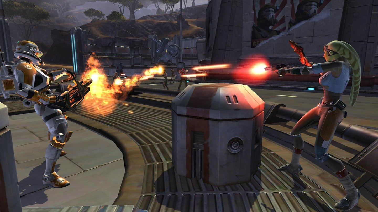 Star Wars: The Old Republic - Screenshots (Ord Mantell)