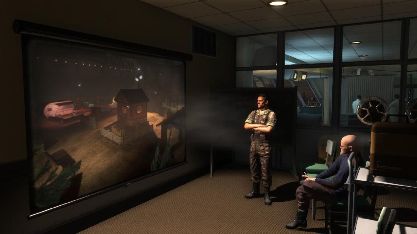 The Bureau: XCOM Declassified - DLC-Screenshots zu Hanger 6 R&D