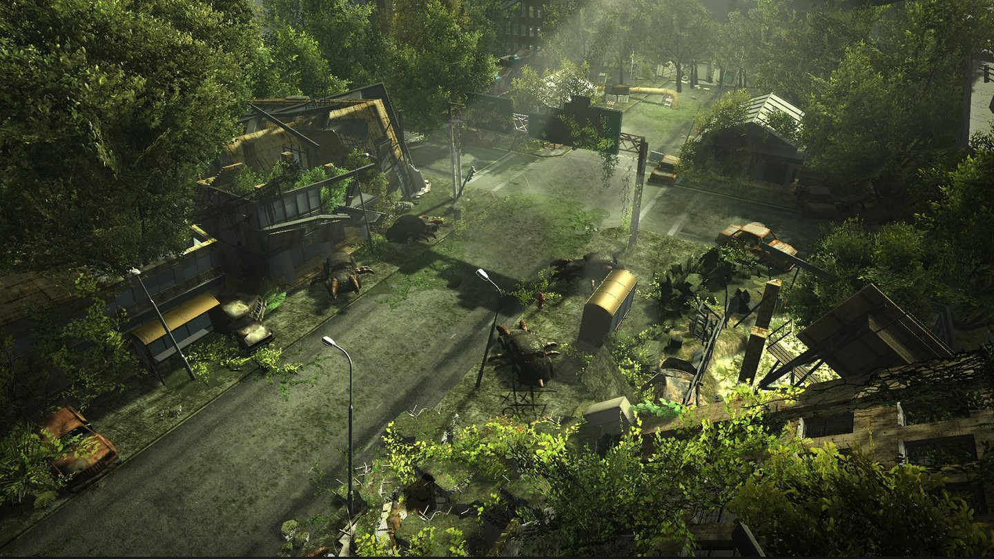 Wasteland 2Screenshot von der Los-Angeles-Region.