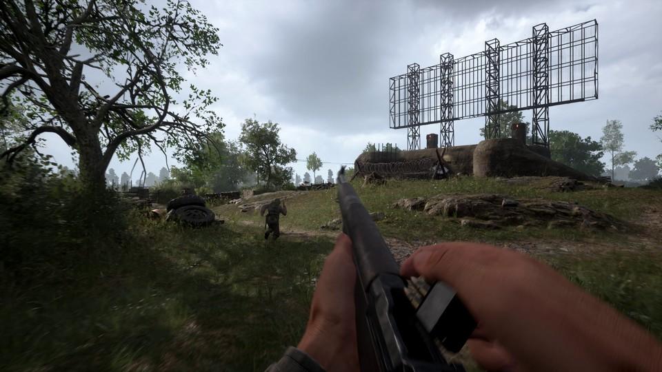 Nachladeanimationen: M1 Garand