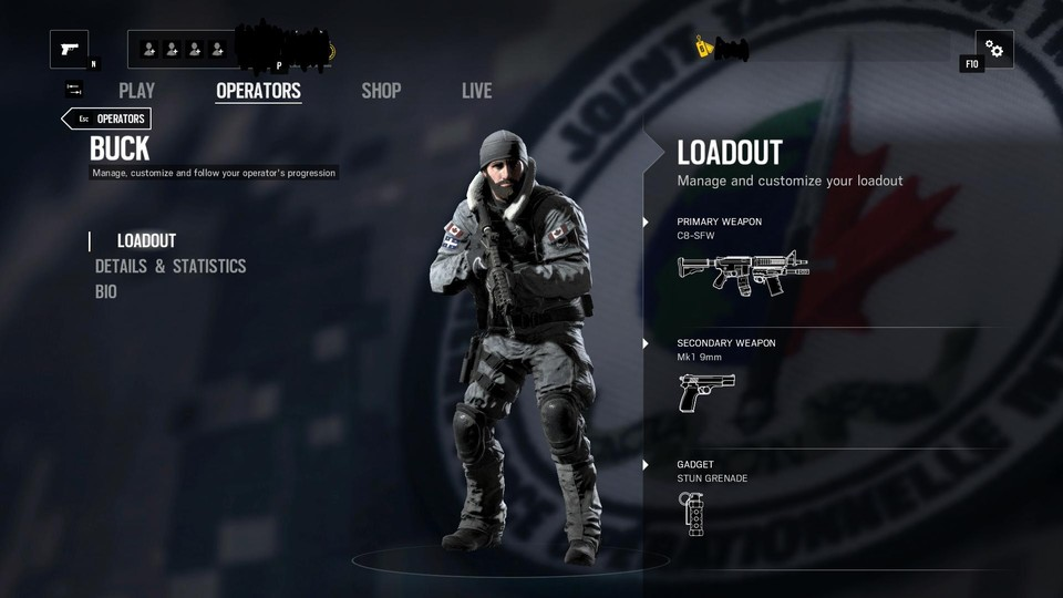Black Ice: Buck