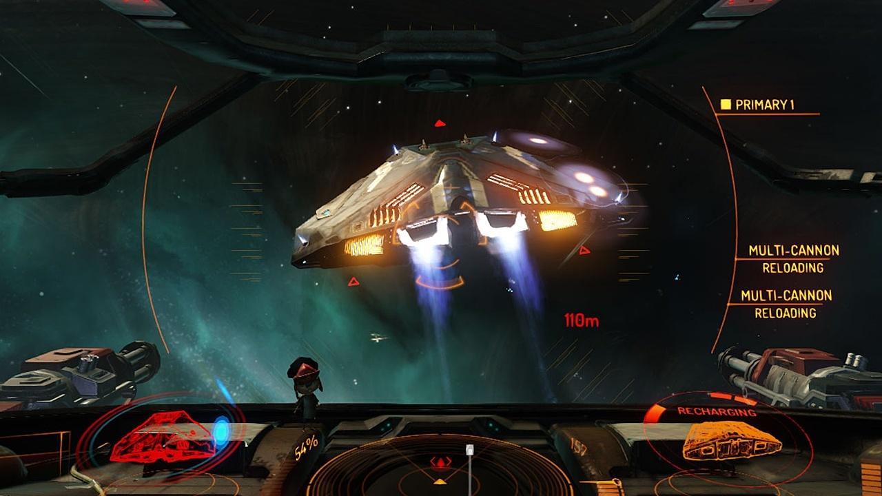 Elite Dangerous Wie Ein Doppeldecker Im Weltraum Gamestar