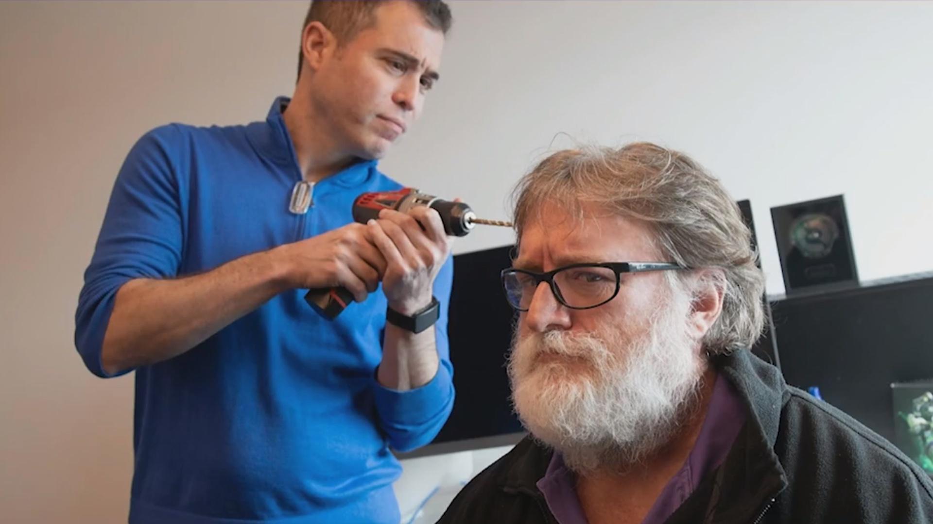 Gabe Newell über Hirn-Interface: »Realität wird dagegen verblassen«
