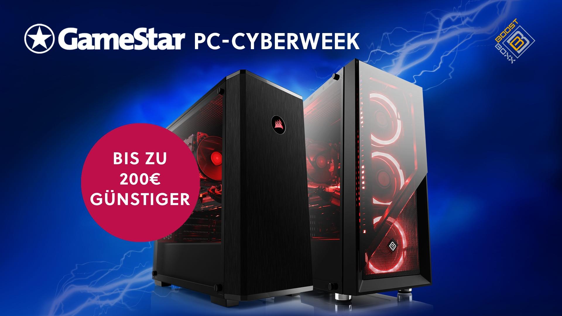 Black Deals GameStar-PCs - Günstiger wirds nicht mehr