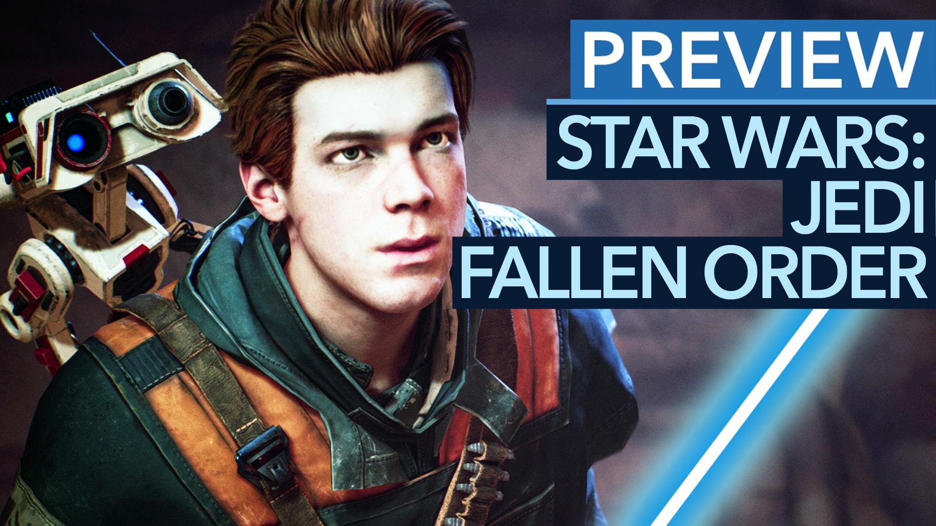 Star Wars: Jedi Fallen Order - Vorschau-Video: Mehr als nur eine neue Hoffnung