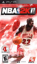 Cover zu NBA 2K11 - PSP