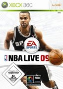 Cover zu NBA Live 09 - Xbox 360