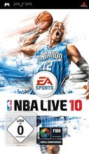 Cover zu NBA Live 10 - PSP