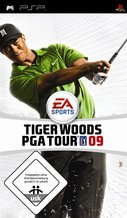 Cover zu Tiger Woods PGA Tour 09 - PSP