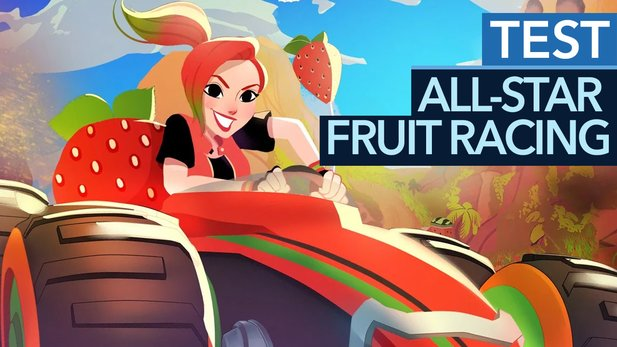 All-Star Fruit Racing - Test-Video: Mario-Karten im Obstgarten