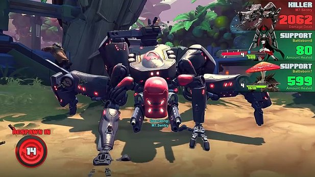 Battleborn - Gameplay-Trailer zum Überfall-Modus