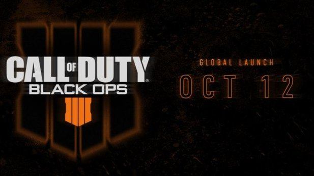 Call of Duty Black Ops 4 erscheint am 12. Oktober.