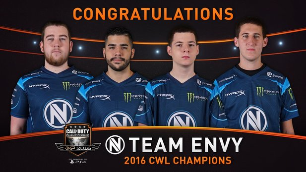 Die Call of Duty World League Championship 2016 ist beendet, EnVyUs sind die Weltmeister in Call of Duty: Black Ops 3.