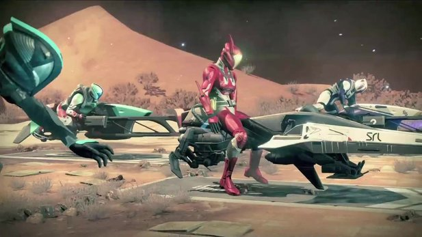 Destiny: The Taken King - Trailer zu den Sparrow-Racing-League-Rennen