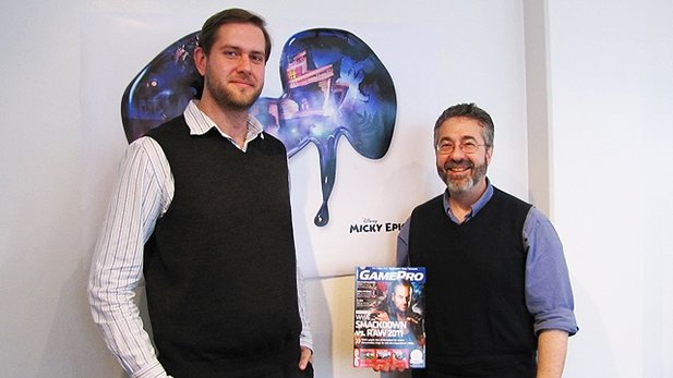 In-Vest-Men: Daniel und Warren Spector