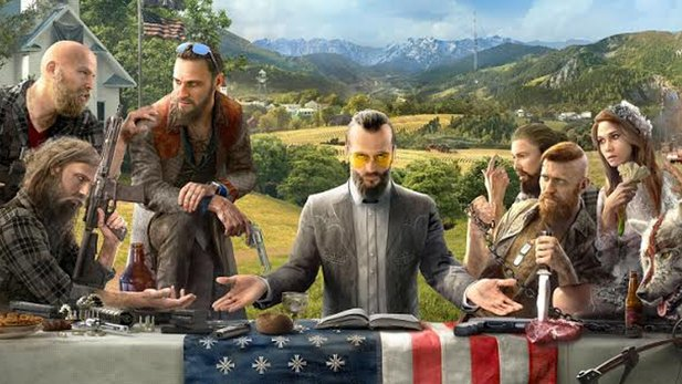 Das Key Art zu Far Cry 5.