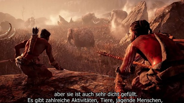 Far Cry Primal - Entwickler-Video erklärt die Wahl des Settings