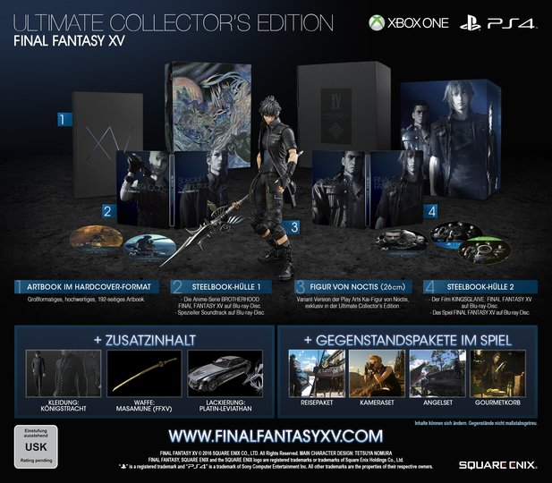 Das ist die »Ultimate Collectors Edition« von Final Fantasy 15.