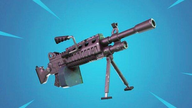 Fortnite Neue Waffe Leichtes Maschinengewehr Als Minigun Ersatz