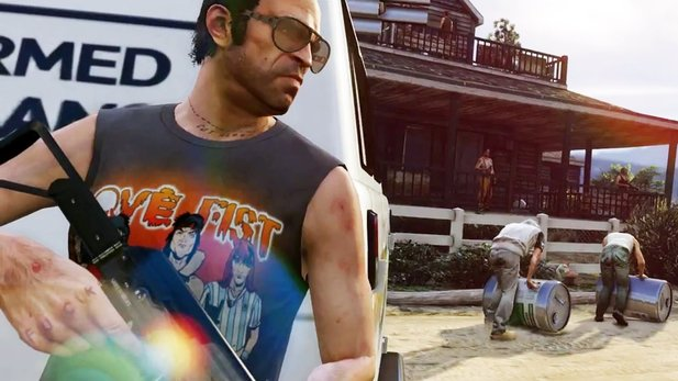 Grand Theft Auto 5 - Trailer: Das wilde Leben in Los Santos