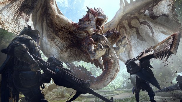 Monster Hunter World erhält ein neues Update.