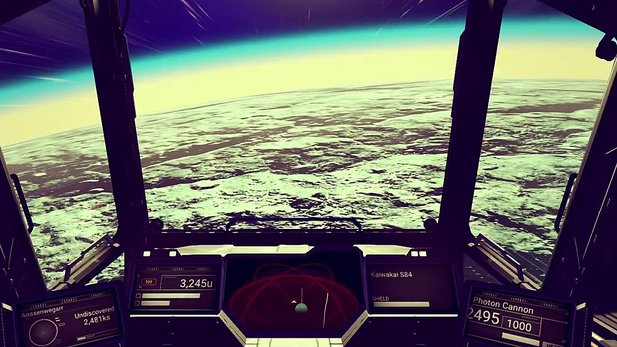 No Man's Sky - Launch-Trailer: Was ist in der Mitte?