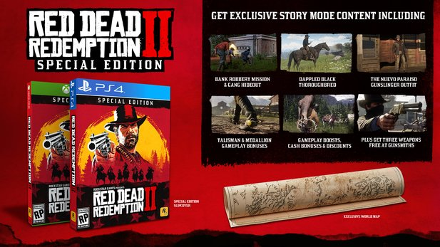 Die Special Edition von Red Dead Redemption 2.