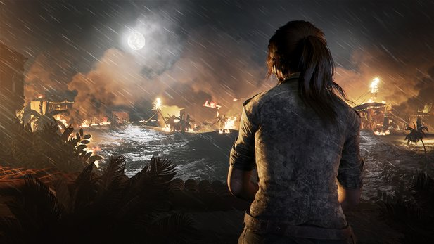 Shadow of the Tomb Raider in der Preview.