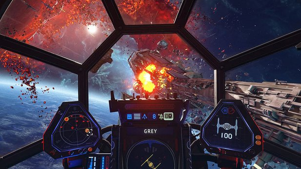 Here you will find all the news about Star Wars: Squadrons from the EA Play Live.