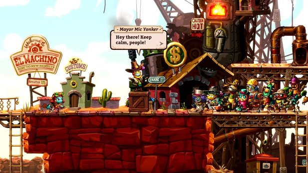 Steamworld Dig 2 - Gameplay-Video verrät Release-Termin für Nintendo Switch-Version