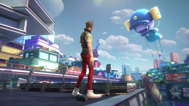 Sunset Overdrive nutzt Cloud-Funktionen der Xbox One.