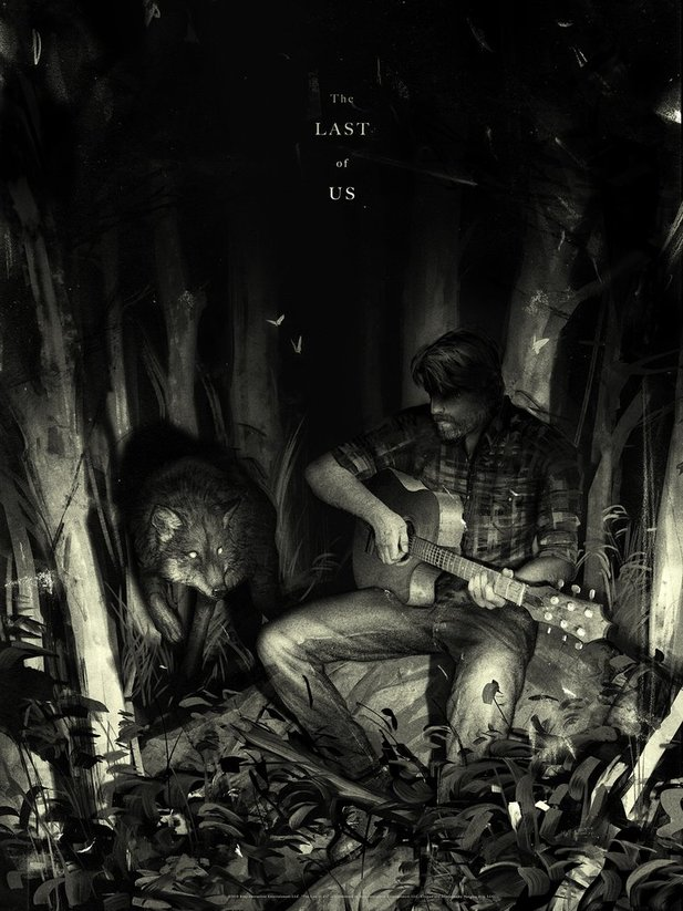 The Last of Us: Part 2-Artwork mit Joel.
