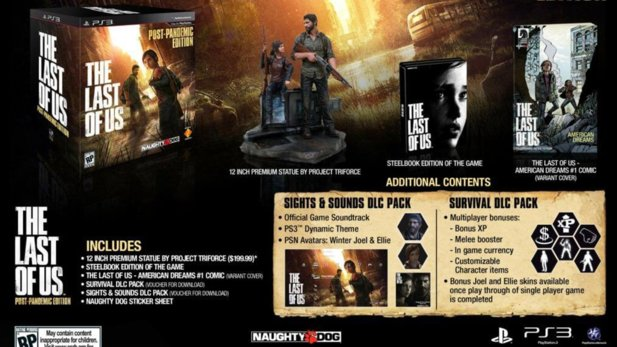 Die Collector's Edition des ersten The Last of Us.