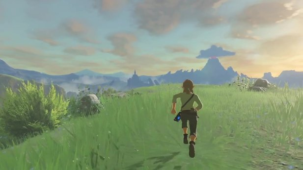 The Legend of Zelda: Breath of the Wild - Frisches Gameplay zeigt Wettereffekte und Landschaften
